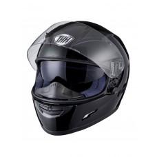 Шлем интеграл THH TS-80 черный, встроенный солнечный визор