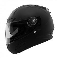 Шлем интеграл THH TS-44 черный, встроенный солнечный визор