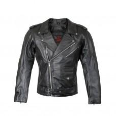 Косуха мужская с защитой, куртка классическая RUSH ROCKER