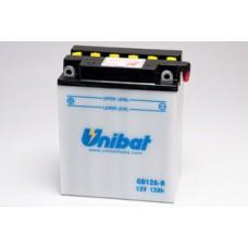 Аккумулятор UNIBAT YB12A-B 12v 10Ah