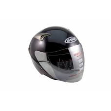 Шлем Опенфэйс GSB G-240 Black glossy