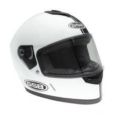 Шлем интеграл GSB G-349 Черно-белый