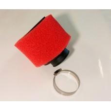 Фильтр воздушный нулевого сопротивления поролон ЦИЛИНДР D=38 мм 0°