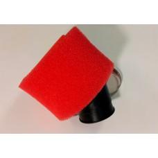 Фильтр воздушный нулевого сопротивления поролон ЦИЛИНДР D=38мм 45°