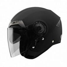 Шлем мотоциклетный, опенфэйс THH T-314, цвет черный