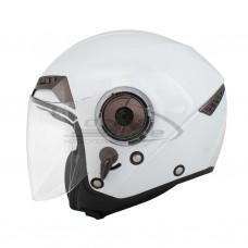 Шлем мотоциклетный, опенфэйс THH T-314, цвет жемчужный