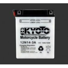 Аккумулятор KYOTO YB12N14-3A (YB14L-A2)