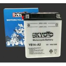 Аккумулятор KYOTO YB14A-A2(A-1)