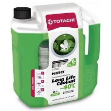 Антифриз TOTACHI NIRO LLC -40 зеленый 2л (4.31кг)
