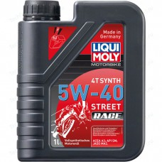 Liqui Moly синт. Motorbike 4T Synth Street Race 5W40 1л 2592