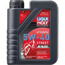 Liqui Moly синт. Motorbike 4T Synth Street Race 5W40 1л 2592