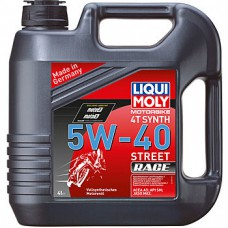 Liqui Moly синт. Motorbike 4T Synth Street Race 5W40 4л 8070