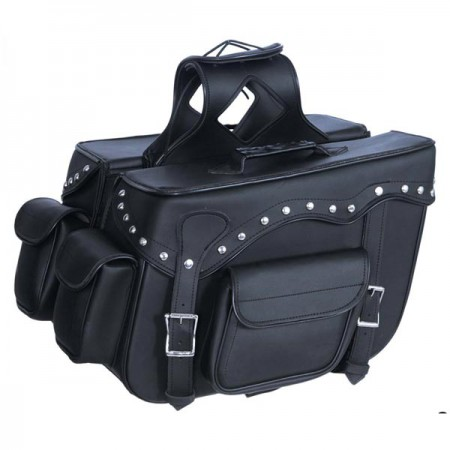 Кофры ПВХ Black Zip-Off Saddlebags