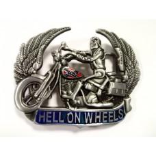 Пряжка Hell On Wheels Buckle