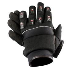 Мотоперчатки мужские, текстиль Black Gel Padded