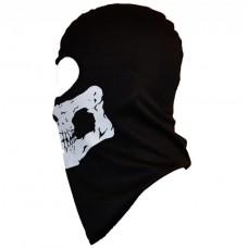 Балаклава RW Skull светоотражающий рисунок (вискоза)