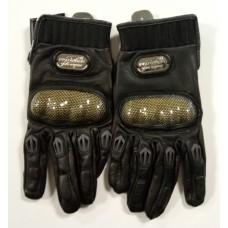 """Мотоперчатки с защитой, текстиль с кожаными вставками """"PRO-BIKER"""" MCS-01L"""