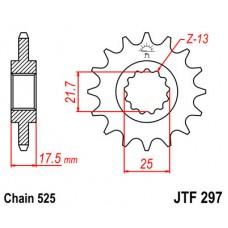 Звезда передняя JTF-297.14 525