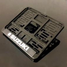 Рамка для номера мотоцикла нового образца (190*145) SUZUKI