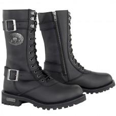Мотоботы женские Ladies Performance Boot XELEMENT кожаные, черные