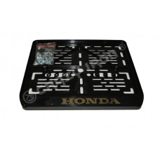 Рамка крепления номерного знака HONDA