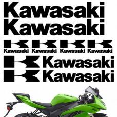 Комплект наклеек KAWASAKI