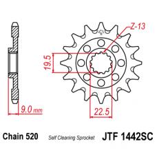 Звезда передняя JTF-1442.13SC 520