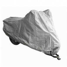 Чехол для мотоцикла плотный 264x104x130 см (2XL), цвет Серый