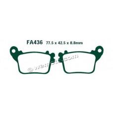 Тормозные колодки Vesrah/(EBC) GG  VD-174/FA436