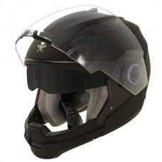 Шлем Xelment 2в1 черный матовый ST-553