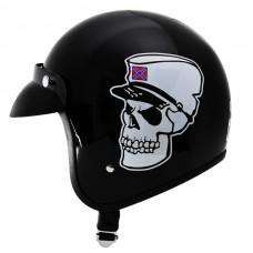 Шлем Outlaw V320 DIXIE SKULL